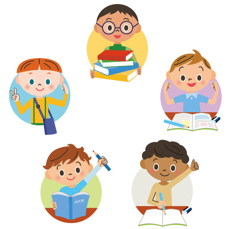 vector studies: boys who study