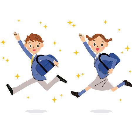 uniformes: Los nuevos alumnos