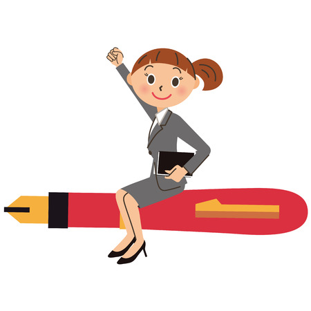 working woman: Working woman Illustration