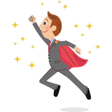 office worker: Businessman Illustration