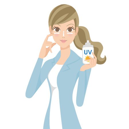 preventive: Ultraviolet rays preventive face care