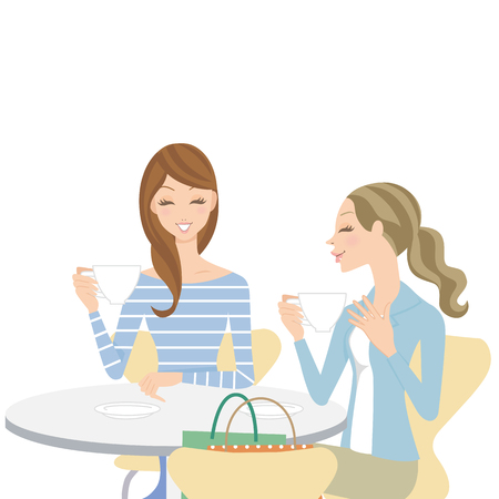talk in a cafe