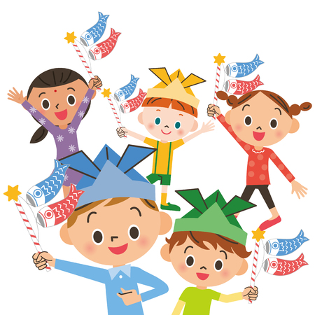 Children's Day  イラスト・ベクター素材