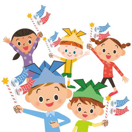 Children's Day Vettoriali