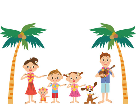 ukulele: Hawaiian trip and family