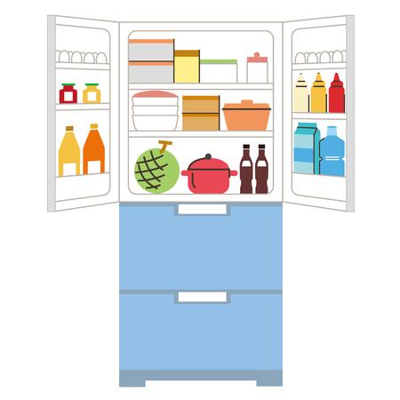 순서에 넣어 냉장고