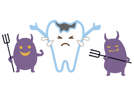 personification: Cavity bacteria