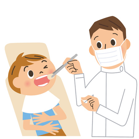 dentist: dentist and patient