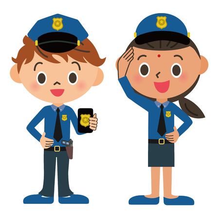 policewoman: Child, police officer