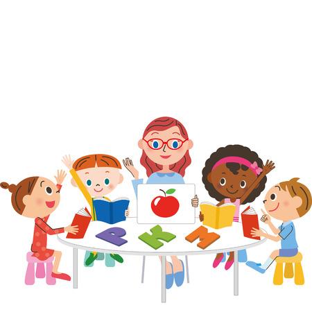 English class Ilustração Vetorial