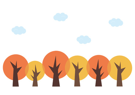 fine weather: Colored leaves