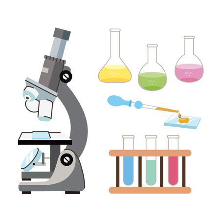 Laboratory tools Illustration