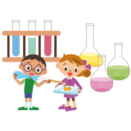 examiner: The child who tests it Illustration