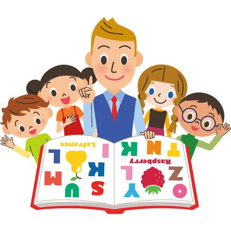 badanie English Ilustracje wektorowe