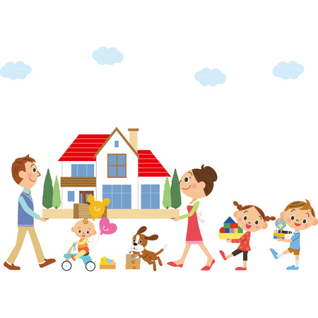 lifestyle home: Move in families.
