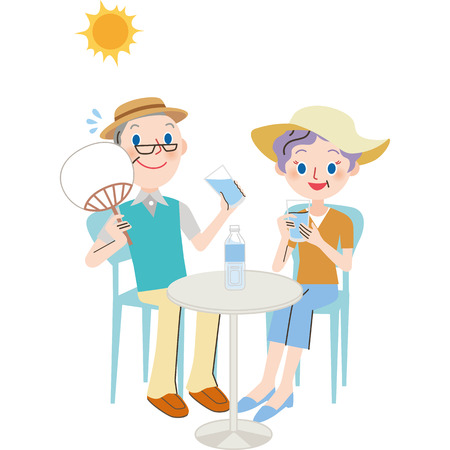 The old couple who makes heat measures