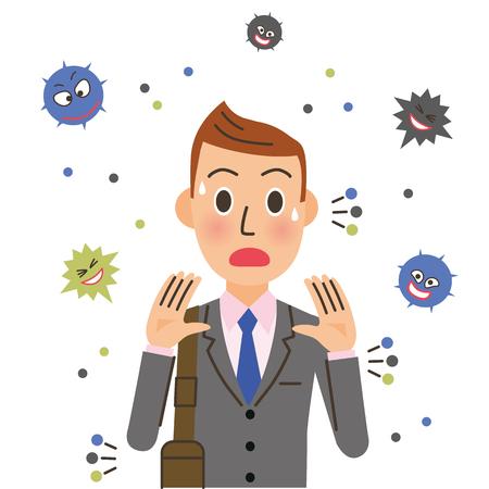 Mannen dragen het virus.