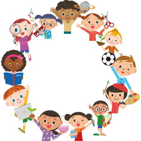 Laboratorio di apprendimento per bambini