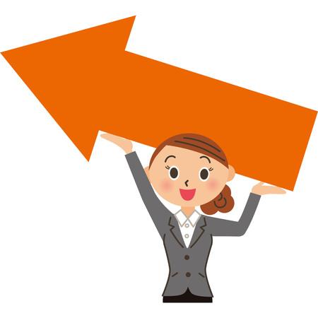 Increase sales Female employees Ilustrace