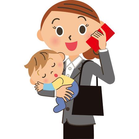 Women commuting with children Imagens - 108027186