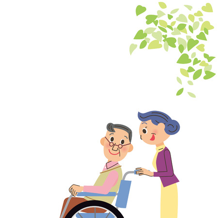 Care of wheelchair grandfather