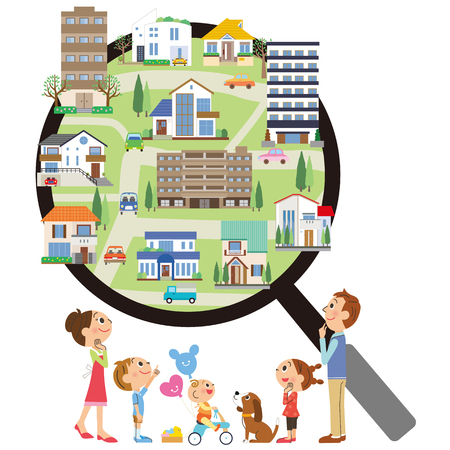Family family and fun searching for properties