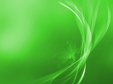 beautiful green abstraction Stock Vector - 12491011