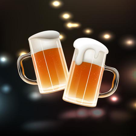 frothy: Beer Mug Illustration