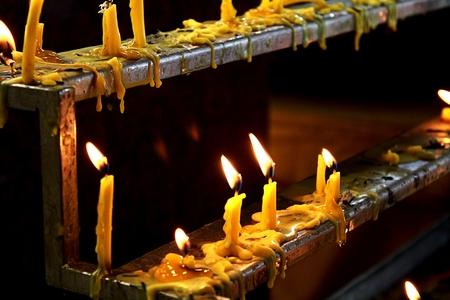 buddism: buddism candle