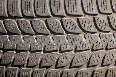 Gray tire