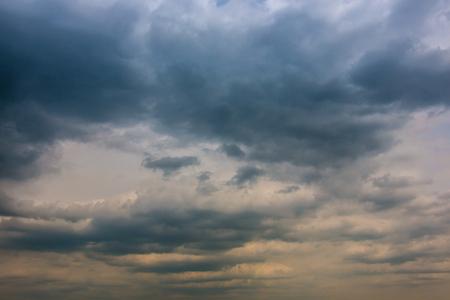 Clouds in the sky