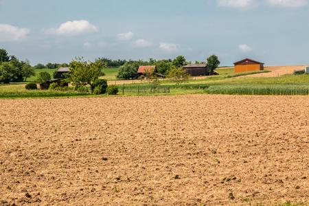 Fields and Soil Lizenzfreie Bilder