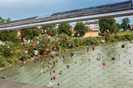 Austrian bridge Lizenzfreie Bilder