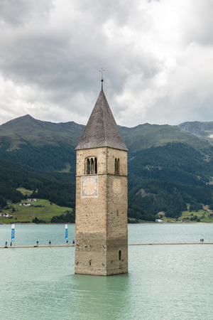 Tower in the lake