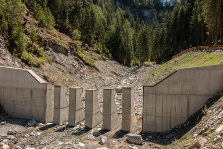 Wild creek wall