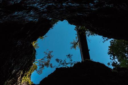 Canyon und Felsen Lizenzfreie Bilder