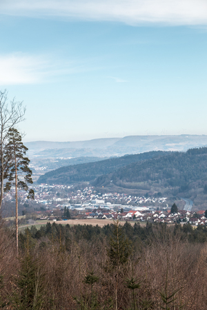 Fields, hills, forests and civilization in Germany