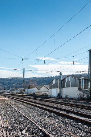 Rails of steel for trains for transport and traveling