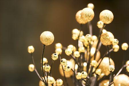 decora: a close up of christmas decoration
