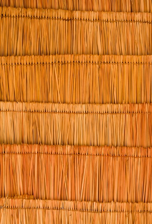 thatch: Texture of the classic thatch roof from inside view