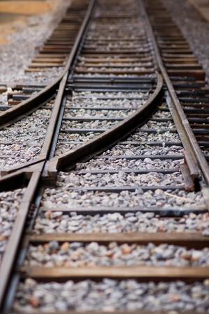 Mini Railway track  photo