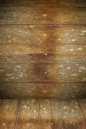 old wooden interior Stock Photo - 10684024
