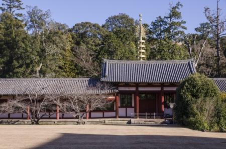 todaiji: a small shine, a part of Todaiji temple, Nara, Japan Editorial