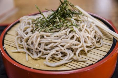 Soba, japanese noodle style