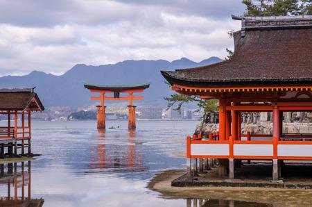 Itsukushima Shrine at Miyajima, Japan