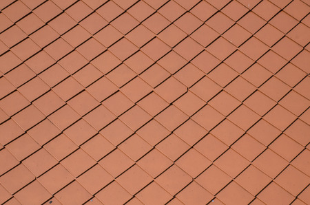 Red tiles roof