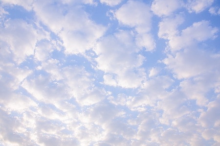 clouds before sunrise with blue sky.