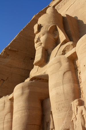 Abu Simbel temple in Egypt Stock Photo - 9816876