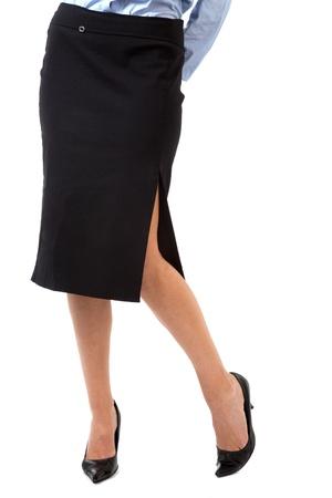 slit: Piernas sexys Foto de archivo