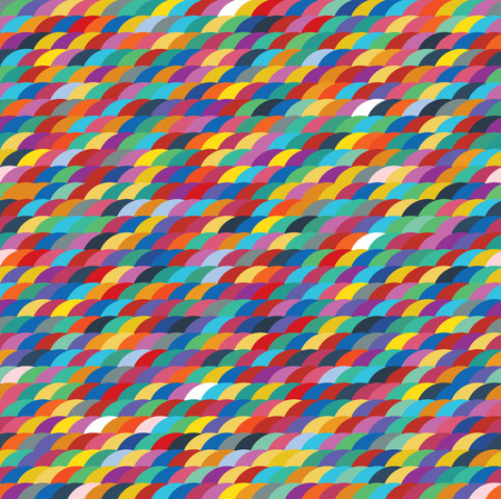 canlı renkli: Seamless colorful pattern background like scale shape with vivid color tones